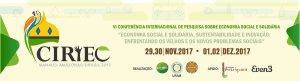 VI Conferencia de CIRIEC-Manaos