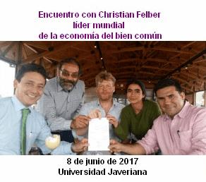 Encuentro con Líderes Mundiales: Christian Felber