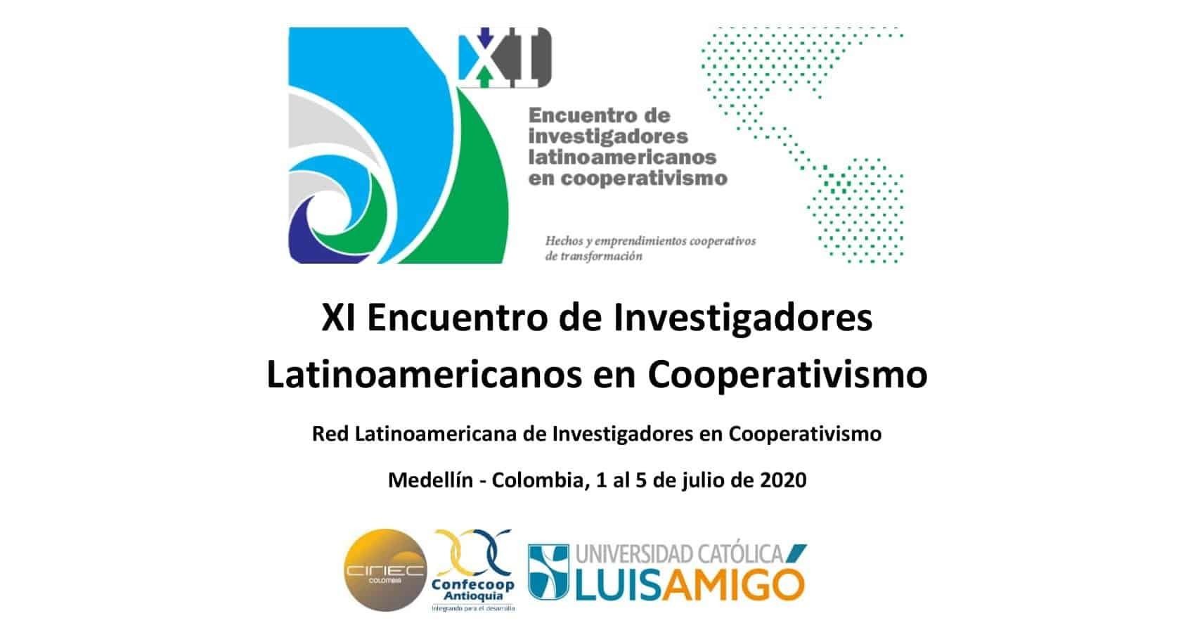 XI Encuentro de Investigadores Latinoamericanos en Cooperativismo
