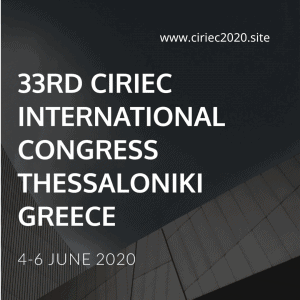 33 Congreso Internacional CIRIEC, Tesalónica, Grecia