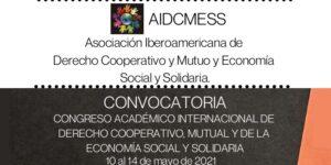 Convocatoria: Congreso Académico Internacional de Derecho Cooperativo, Mutual, y de la Economía Social y Solidaria