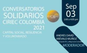 Lee más sobre el artículo Conversatorios Solidarios. Octubre 1, 2021